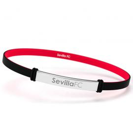 Pulsera fashion Sevilla FC negro junior