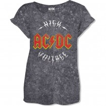 CAMISETA AC/DC MUJER (High Voltage)