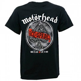 Camiseta Motorhead (ace of spades)