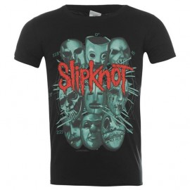 Camiseta Slipknot (masks)