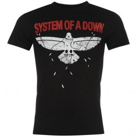 Camiseta System Of A Down (paloma)