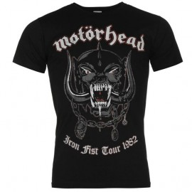 CAMISETA MOTORHEAD WARPIG (FIRST TOUR 82)