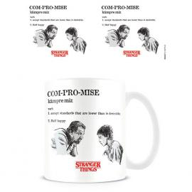 Taza Compromise Licencia Stranger Things