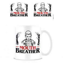 Taza Mouth Breather Stranger Things