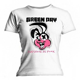 CAMISETA GREEN DAY MUJER (ROAD KILL)