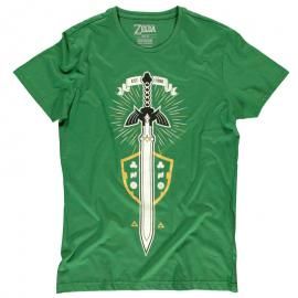 Camiseta The Master Sword Zelda Nintendo