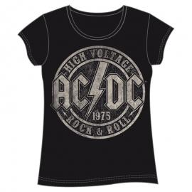 Camiseta High Voltage ACDC adulto mujer