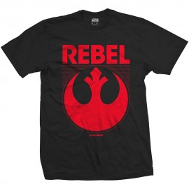 Camiseta Star Wars ep 7 (rebel)