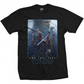 Camiseta Star Wars ep 8 (the force composite)