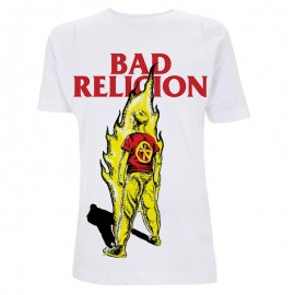 Camiseta Bad Religion (boy on fire)