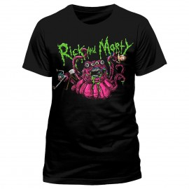 Camiseta Rick And Morty (monster slime)