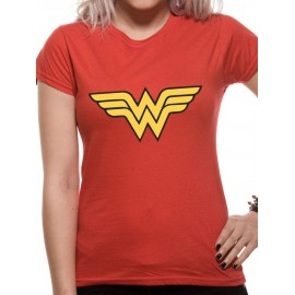 CAMISETA WONDER WOMAN MUJER (ORIGINALS OFFICIAL LOGO)