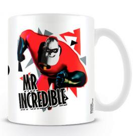 Taza Mr. Increible en accion Los Increibles Disney