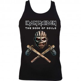 TOP IRON MAIDEN MUJER (AXE BOOK OF SOULS)