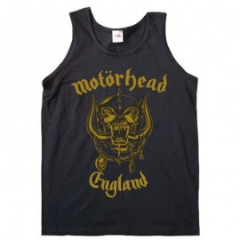 Top Motorhead Mujer (England Gold)