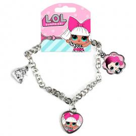 Pulsera LOL Surprise It's Fashion charms