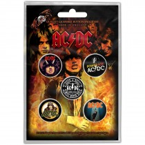 CHAPAS ACDC HIGHWAY TO HELL (PACK DE 5)