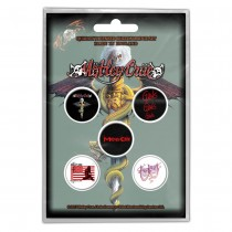 CHAPAS MOTLEY CRUE DR FEELGOOD (PACK DE 5)