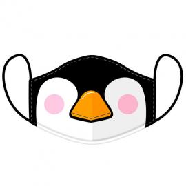 Mascarilla reusable Cutiemals Penguin L