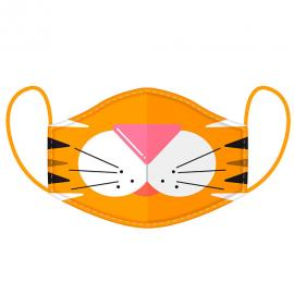 Mascarilla reusable Cutiemals Tiger L