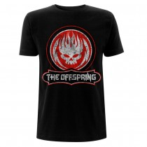 CAMISETA THE OFFSPRING (DISTRESSED SKULL)