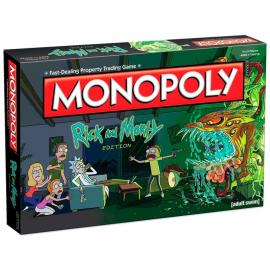 Juego monopoly Rick and Morty