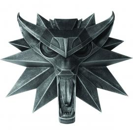 Replica emblema lobo Geralt de Rivia The Witcher