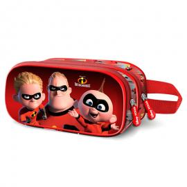 Portatodo 3D Los Increibles Disney doble