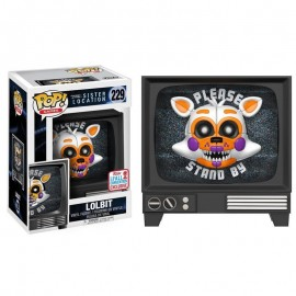 *Figura POP Five Nights at Freddy's Sister Location Lolbit Fall Convention 2017 Exclusive*