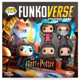 Juego mesa POP Funkoverse Harry Potter 4fig Ingles