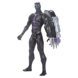 Figura Titan Hero Power FX Black Panther Marvel 30cm