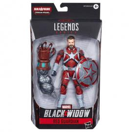 Figura Legends Crimson Black Widow Marvel 15cm