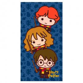 Toalla Chibi Harry Potter algodon