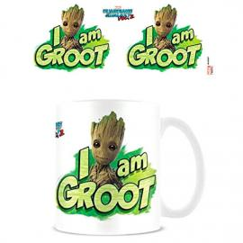 Taza I am Groot Guardianes de la Galaxia Marvel