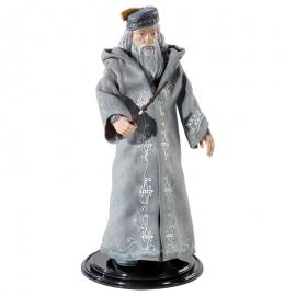 Figura Maleable Bendyfigs Dumbledore con varita Harry Potter 19cm