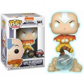 Figura POP Avatar Aang on Air Bubble Exclusive Glow Chase