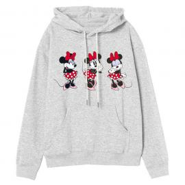 Sudadera capucha Minnie Disney adulto