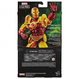Figura Iron Man 2020 Legends Gears Marvel 15cm - Imagen 2