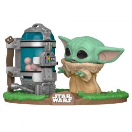 Figura POP Star Wars The Mandalorian Child with Canister