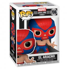 Figura POP Marvel Luchadores Spiderman