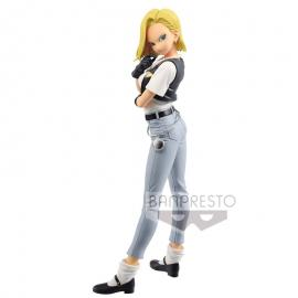 Figura Android 18 III Glitter and Glamours Dragon Ball Z B 25cm