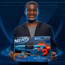 Lanzador Commander RC-6 Elite Nerf
