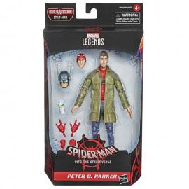 Figura Peter B. Parker Spiderman Into the Spider-Verse Marvel 15cm - Imagen 1
