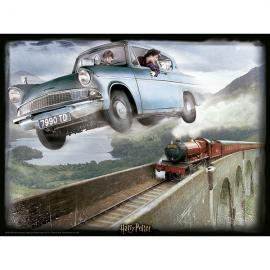 Puzzle lenticular Ford Anglia Harry Potter 500pzs
