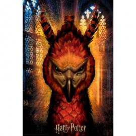 Puzzle lenticular Fawkes Harry Potter 300pzs
