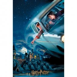 Puzzle lenticular Harry y Ron en Ford Anglia Harry Potter 300pzs
