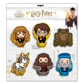 Set 6 gomas borrar Wizard Harry Potter
