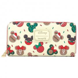 Cartera Mickey and Minnie Cookie Disney Loungefly