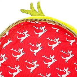 Mochila Max and The Grinch Dr. Seuss Loungefly 27cm