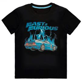 Camiseta Blue Flames Fast and Furious